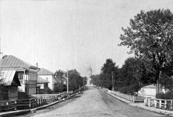 Vologda. Ekaterininskaya Street, 1900