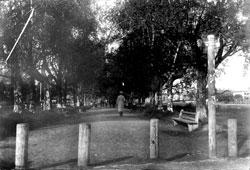 Vologda. City Boulevard, 1912