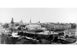 Vologda. Panorama of the city