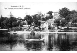 Voronezh. Voronezh River and Alexeevskiy monastery