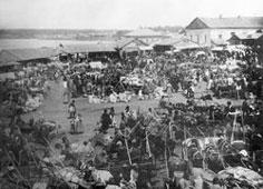 Votkinsk. Marketplace