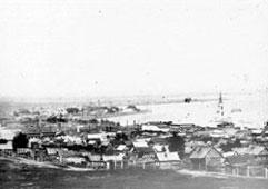 Votkinsk. Panorama of city