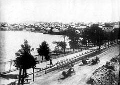 Votkinsk. The dam