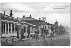 Vyazniki. Annunciation Street