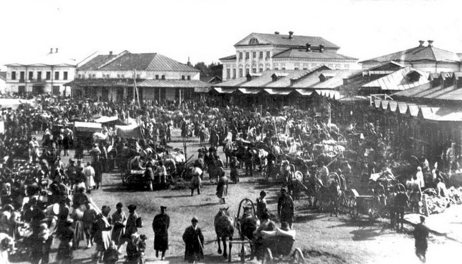 Glazov. Bazaar