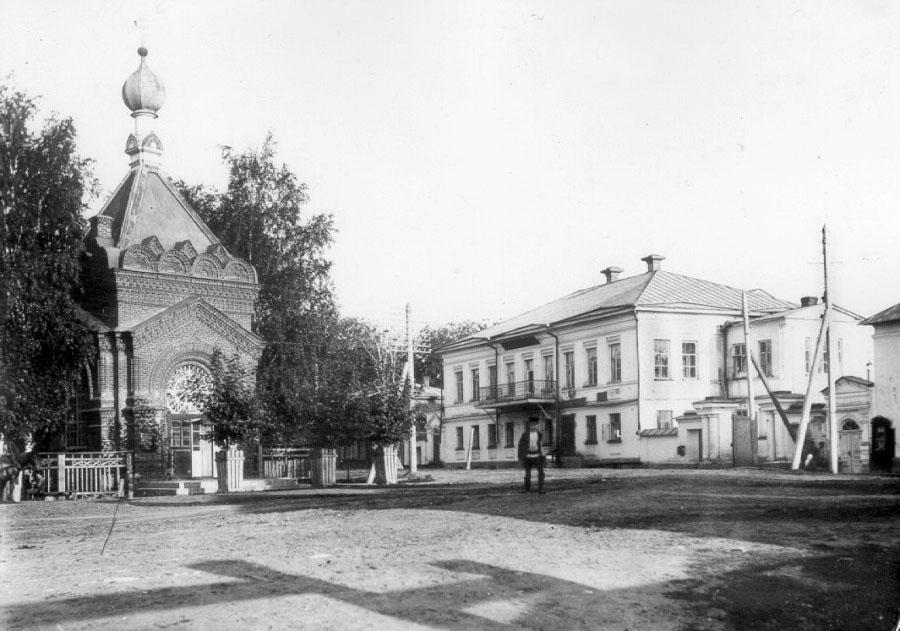 Glazov. Chapel of Alexander Nevsky