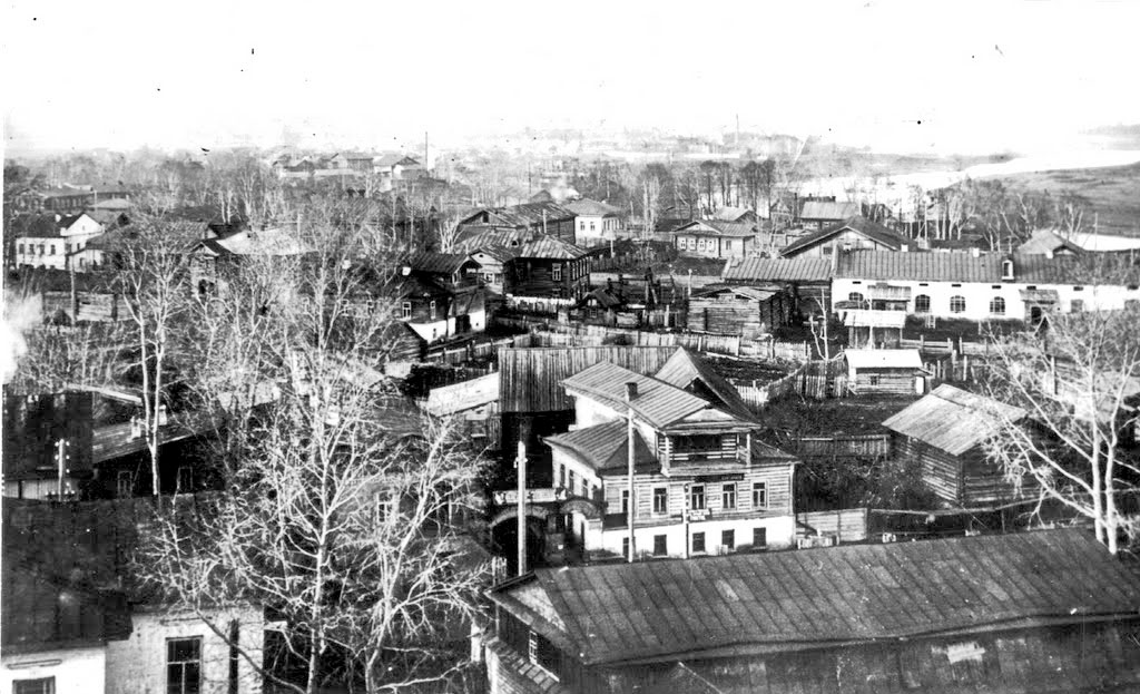 Glazov. Panorama of the city
