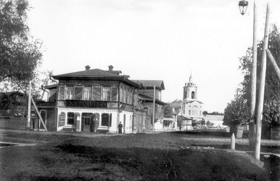 Glazov. Nikolskaya street