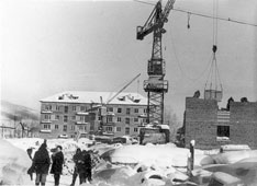 Gorno-Altaysk. The Construction, 1963