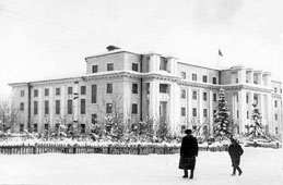 Gorno-Altaysk. The building of Region Executive Committee