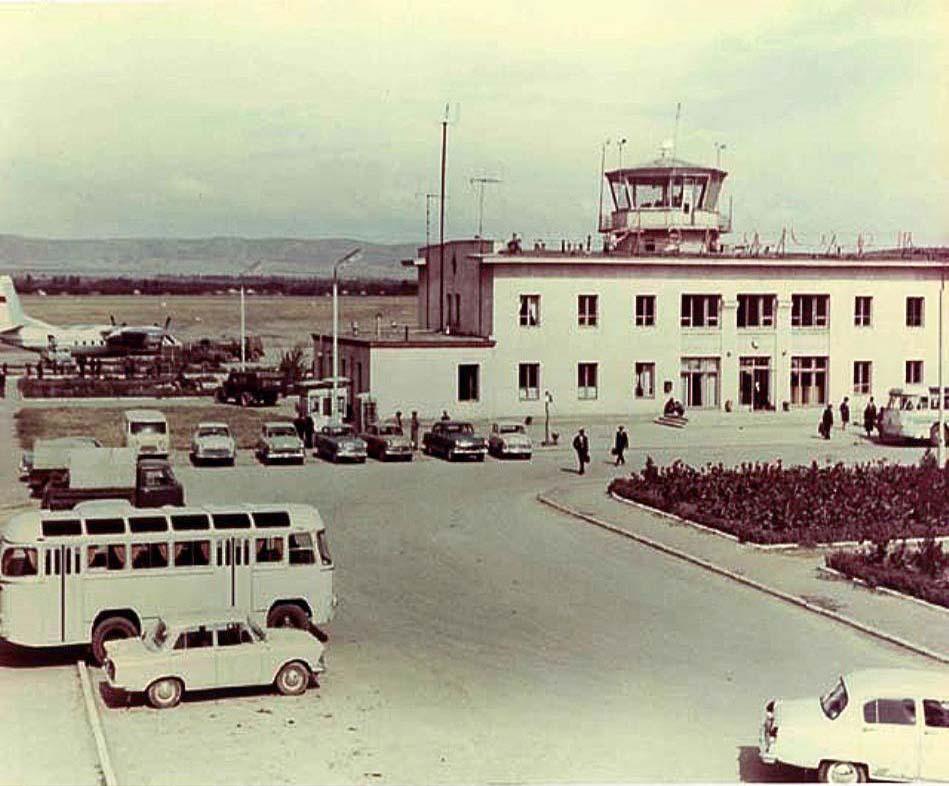 Grozny. Airport, circa 1970