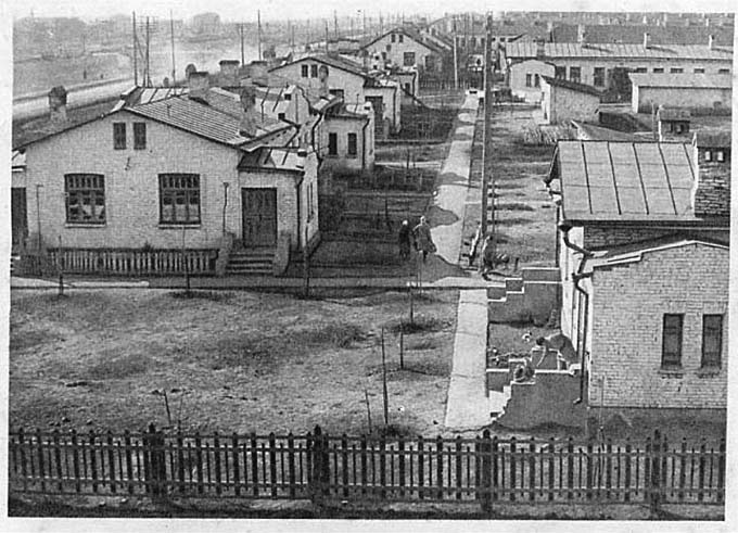 Grozny. Houses of working village