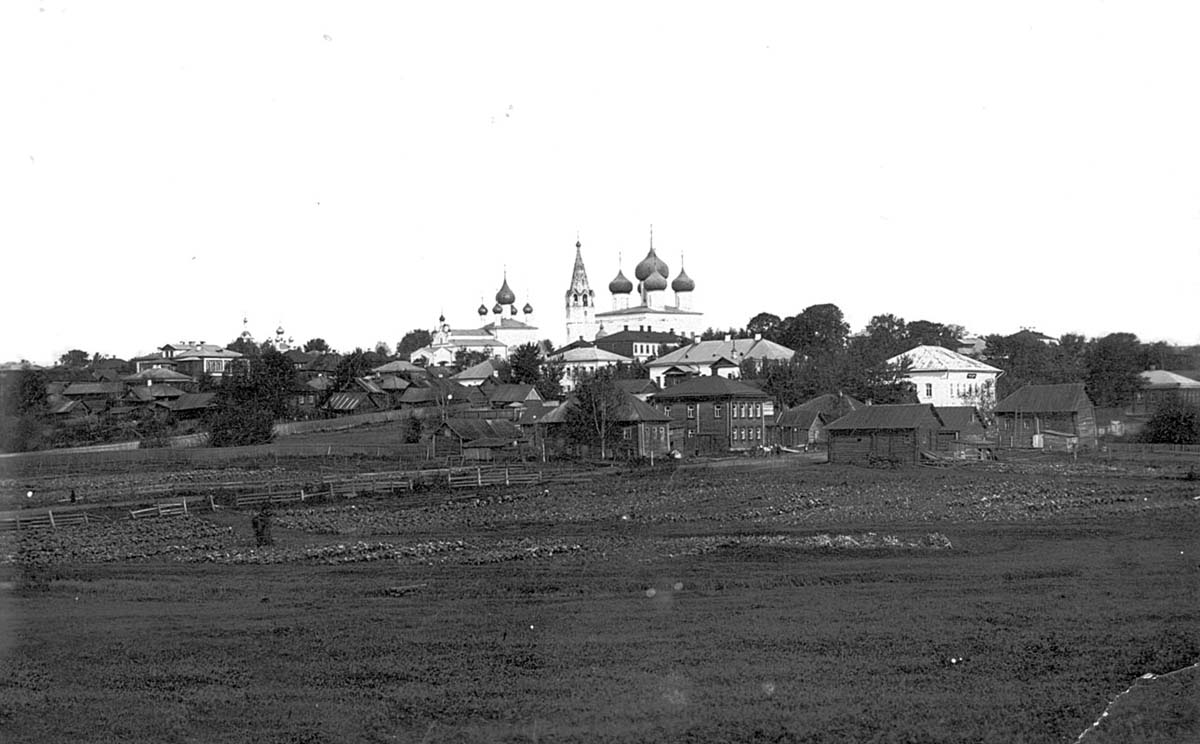 Danilov. Panorama of the city