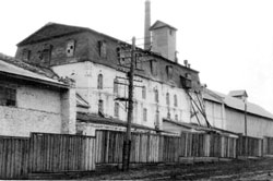 Davlekanovo. Flour milling plant