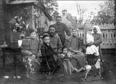 Davlekanovo. The family of wealthy citizens