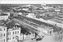 Yekaterinburg. Nurovsky public garden