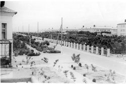 Znamensk. Soldier park, 1955
