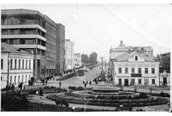 Ivanovo. Square at the Red Bridge, 1937