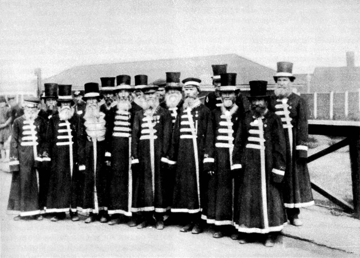 Izhevsk. Armourers of Izhevsk factory, circa 1880