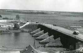 Yoshkar-Ola. Bridge over the River Little Kokshaga