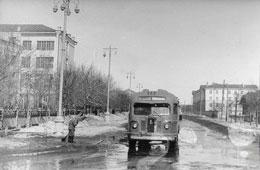 Yoshkar-Ola. Komsomolskaya street