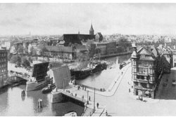 Kaliningrad. Panorama of city