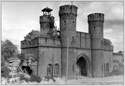 Kaliningrad. Rossgarten gates