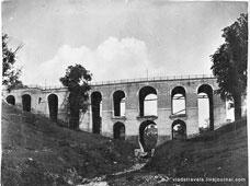 Kaluga. Stone bridge over a ravine Berezuysky