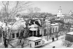 Kanash. Former Zemstvo (district) Elementary School