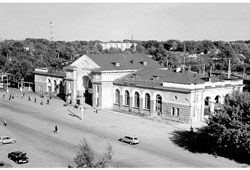Kanash. Railway station