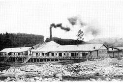 Karabash. Copper Smelting Plant of Leslie Urquhart, 1907