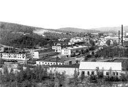 Karabash. Panorama of the city