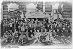Kemerovo. Delegates of first congress, 1918