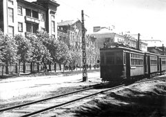 Kemerovo. The first tram