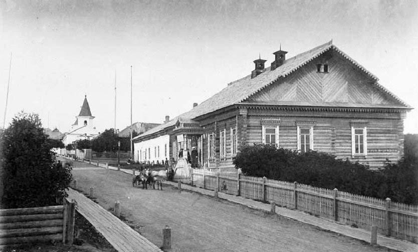 Korsakov. County Police Office, 1891