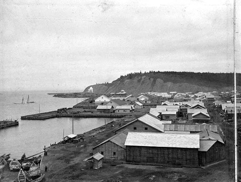 Korsakov. Port Ōtomari