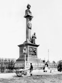 Kostroma. Monument to Ivan Susanin