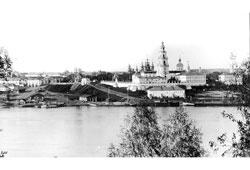 Kostroma. Cathedral ensemble of Kostroma Kremlin