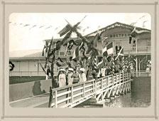 Kostroma. The visit of Emperor Nicholas II, 1913
