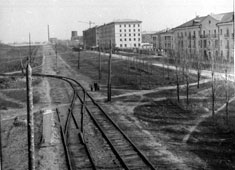 Krasnodar. Red Street, circa 1950's