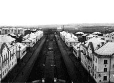 Kumertau. Lenin street