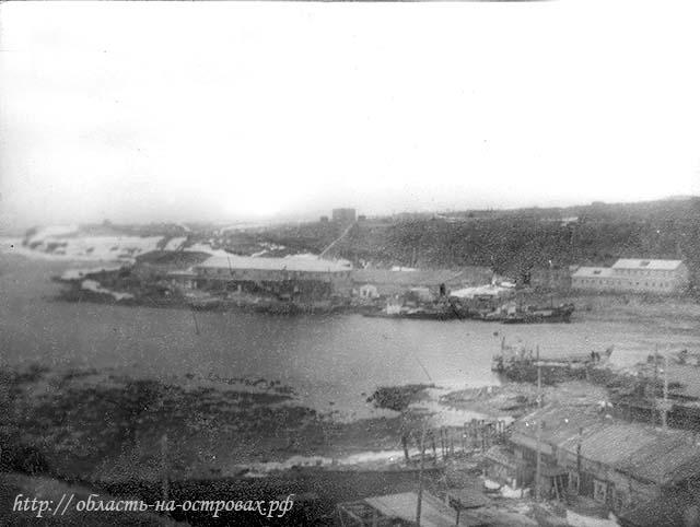 Kurilsk. Panorama of Gulf