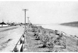 Lensk. The township Muhtuya