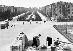 Lipetsk. Square Frantsenyuk, 1957