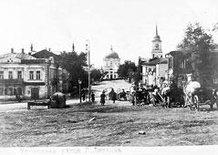 Lipetsk. View on street Usmanskaya