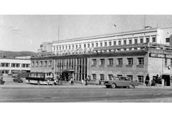 Magadan. Motor-coach terminal