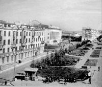 Magadan. Prospect Karl Marx, 1960's
