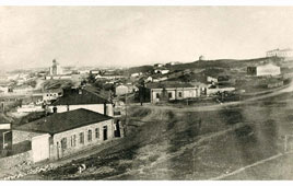 Makhachkala. Panorama of the city