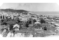 Makarov. Panorama of the city