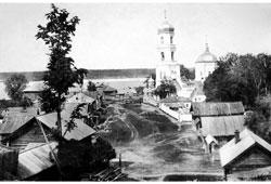 Mariinsky Posad. Kazan Church